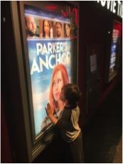 Jennica Schartzman son Freemont kissing his mom movie poster
