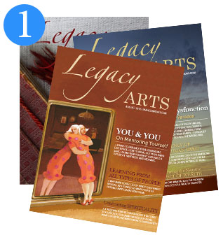Sign Up for Legacy Arts Magazine