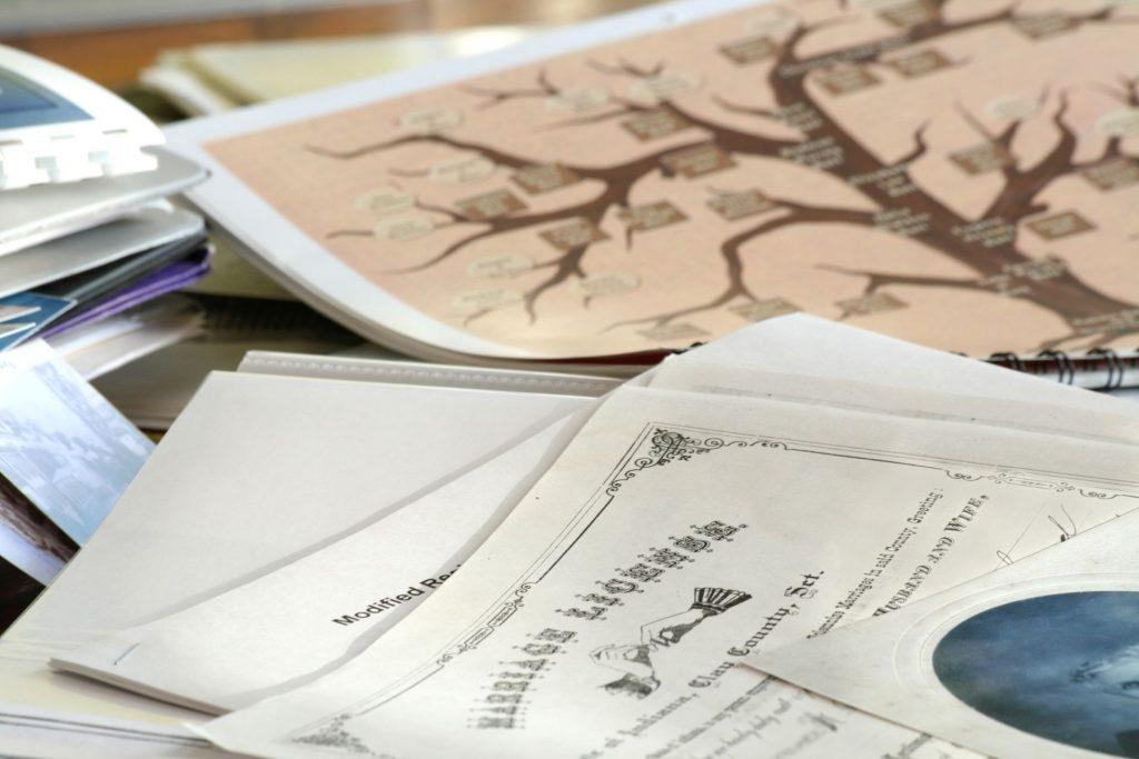 start genealogy research
